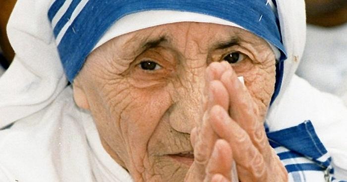 """""""Conselho da gota limpa"""", da Madre Teresa de Calcutá"""