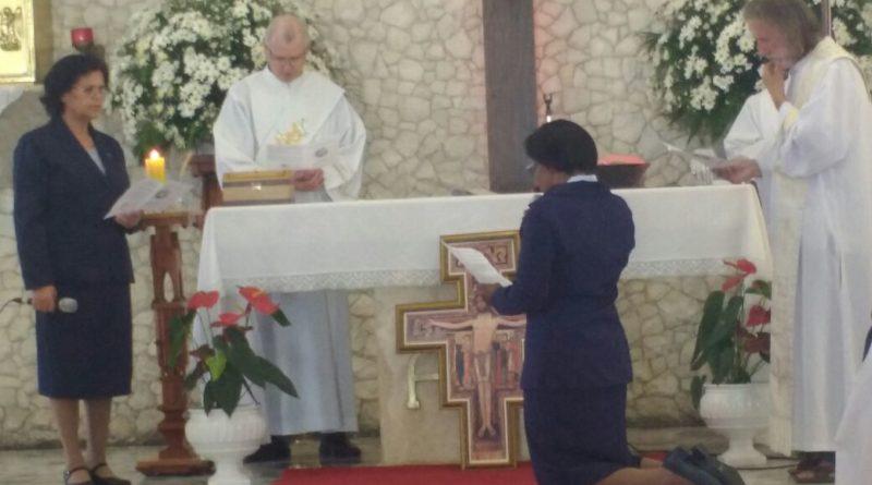 Profissão Religiosa de Ir. Elizabeth
